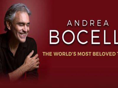 Andrea Bocelli Tournee 2021 Logo