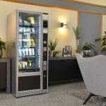Getränkeautomat in der Hotelhalle